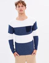 Scotch & Soda Block Stripe Pullover