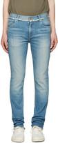 Christian Dada Blue Signature Super Skinny Jeans