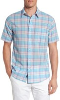 Faherty Men's Ventura Summer Blend Plaid Sport Shirt