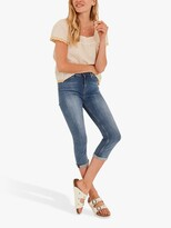 Thumbnail for your product : Fat Face FatFace Hertford Skinny Capri Jeans, Light Wash