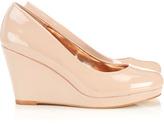 Wallis Nude Wedge Court Shoe