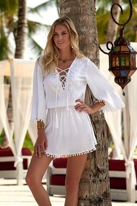 Melissa Odabash Kiah White Dress