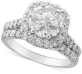 Macy's Diamond Bridal Set (2-1/2 ct. t.w.) in 14k White Gold