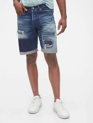 Gap 1969 Premium Destructed Denim Shorts