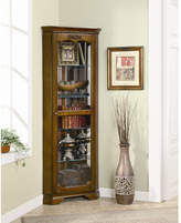 Wildon Home Eliot Corner Curio Cabinet