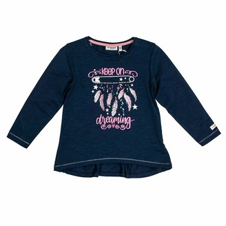 Salt&Pepper Salt and Pepper Girls' Daydream Federn Glitzerprint Longsleeve T-Shirt