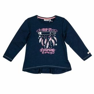 Salt&Pepper Salt and Pepper Girls' Daydream Federn Glitzerprint Longsleeve T - Shirt