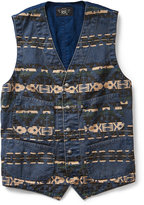 Ralph Lauren Print Cotton Twill Vest