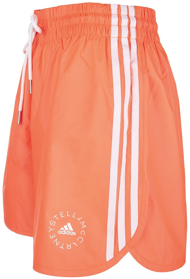 Thumbnail for your product : Stella McCartney Woman Coral Red Josie Sports Shorts