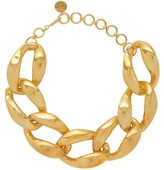 Misho - Chunky Chain Choker Necklace - Womens - Gold