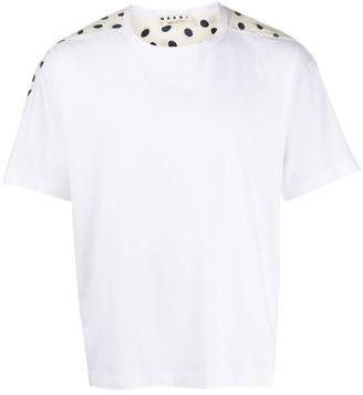 Marni print panel T-shirt