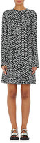Marni Women's Geometric-Print Silk Shift Dress