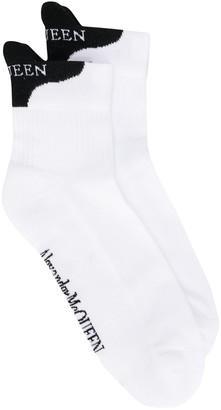 Alexander McQueen McQueen signature socks