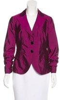 Etro Iridescent Silk-Blend Blazer