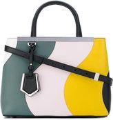 Fendi small 2Jours handbag - women - Cotton/Leather - One Size