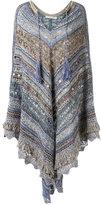 Cecilia Prado knit poncho - women - Cotton/Acrylic/Lurex - One Size