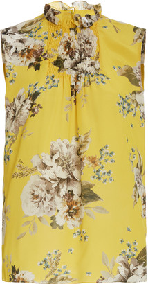 Erdem Ralph Sleeveless Floral Top