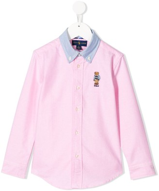 Ralph Lauren Kids Preppy Bear shirt