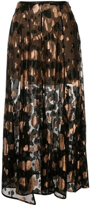 Petar Petrov Roxy jacquard maxi skirt