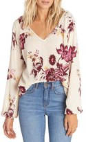 Billabong Distant Roads Peasant Top