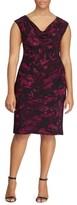Lauren Ralph Lauren Plus Size Women's Laruen Ralph Lauren Abstract Print Sheath Dress