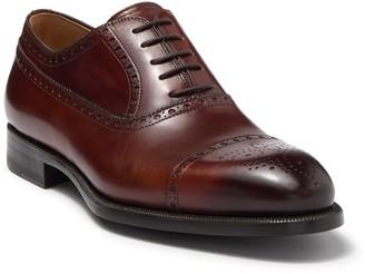 Magnanni Seton Leather Cap Toe Oxford