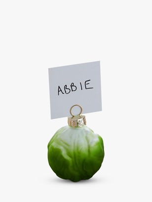 Ginger Ray Brussel Sprout Bauble Place Card Holders, Pack of 6