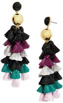 BaubleBar Corsetta Tassel Drop Earrings