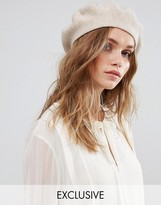 Glamorous Sequin Embellished Wool Beret