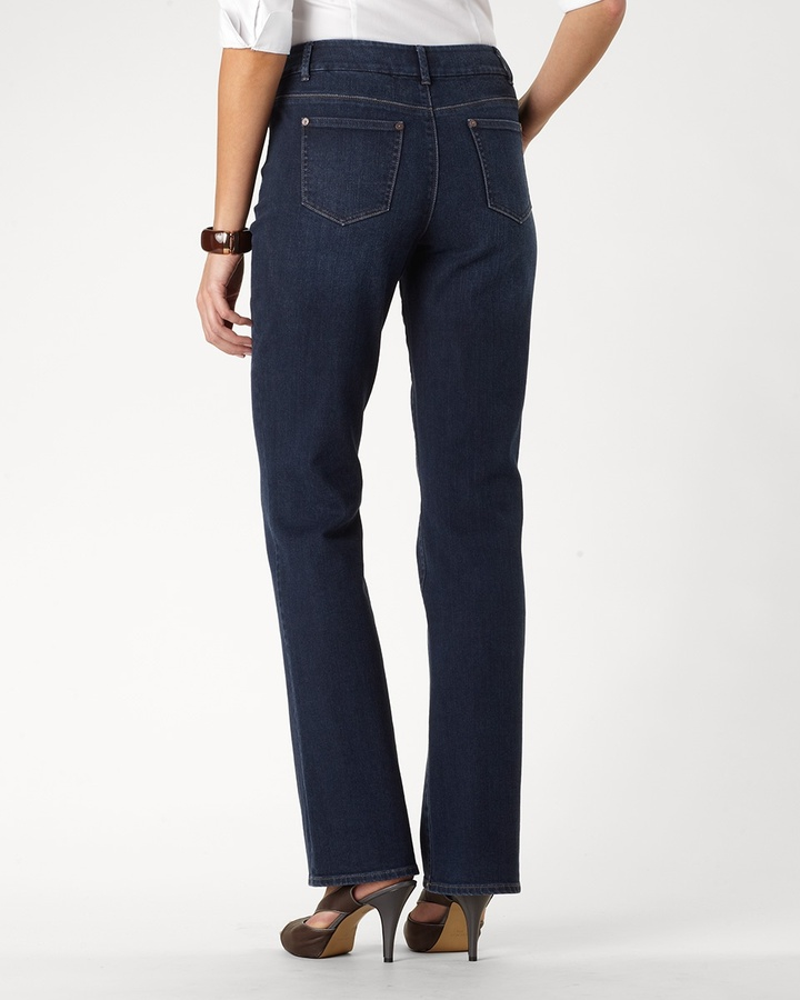 Coldwater Creek Classic shaping bootcut jeans