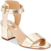 INC International Concepts Women's Hallena Block-Heel Dress Sandals, Only at Macy's