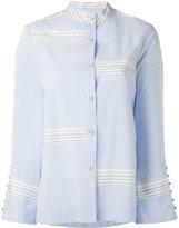 Derek Lam 10 Crosby bell sleeve button-down shirt - women - Cotton - 2