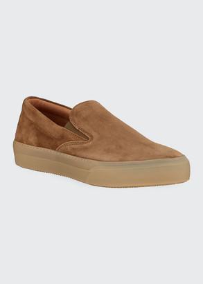 John Varvatos Men's 315 Mac Suede Skate Sneakers