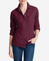 Eddie Bauer Women's Stine's Favorite Flannel Shirt - Solid