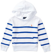 Ralph Lauren Striped French Terry Hoodie, Toddler Boys (2T-4T) & Little Boys (2-7)