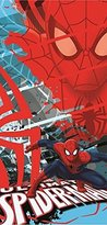 Disney Marvel Comics Ultimate Spiderman Super Spy Fiber Reactive Cotton Beach Towel 30x60 Inches