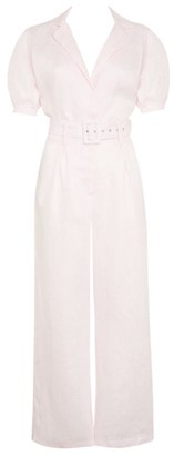 Faithfull The Brand Linen Frederikke Jumpsuit