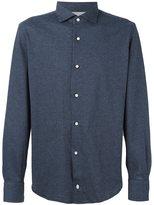 Eleventy plaid longsleeved shirt