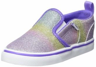 Vans Baby Girls' Asher V Toddler Unisex Sneaker