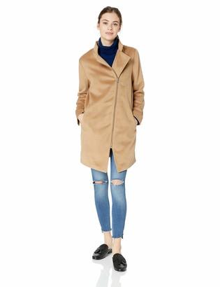 Jack by BB Dakota Junior's Zip to My Heart Wool-Like Melton Coat