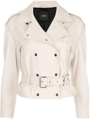 LTH JKT Belted Leather Jacket