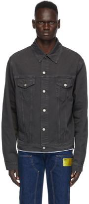 Maison Margiela Grey Denim Fade Jacket