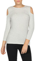 Sass NEW York Cut out Top White