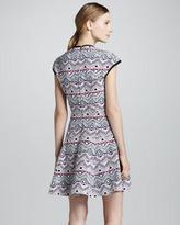 Nanette Lepore Cove Tino Printed Fit & Flare Dress