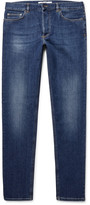 Givenchy Legging-Fit Appliquéd Stretch-Denim Jeans