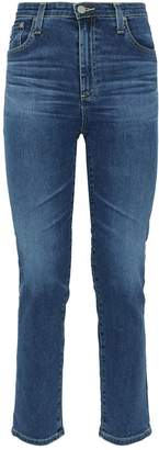 AG Jeans Isabel Straight-Leg Crop Jeans