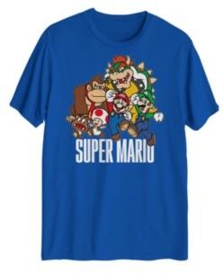Hybrid Super Mario Group Men's Graphic T-Shirt