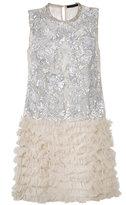 Amen embellished shift dress