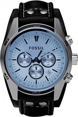 Fossil Mens Coachman Chronograph Cuff Watch CH2564