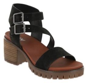 Mia Women's Leyna Lug Sole Sandal Women's Shoes